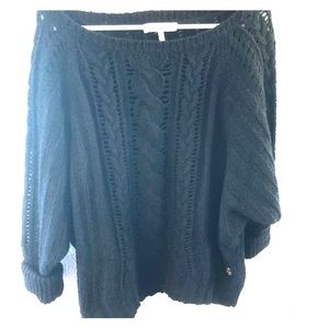 Juicy Couture cable knit sweater